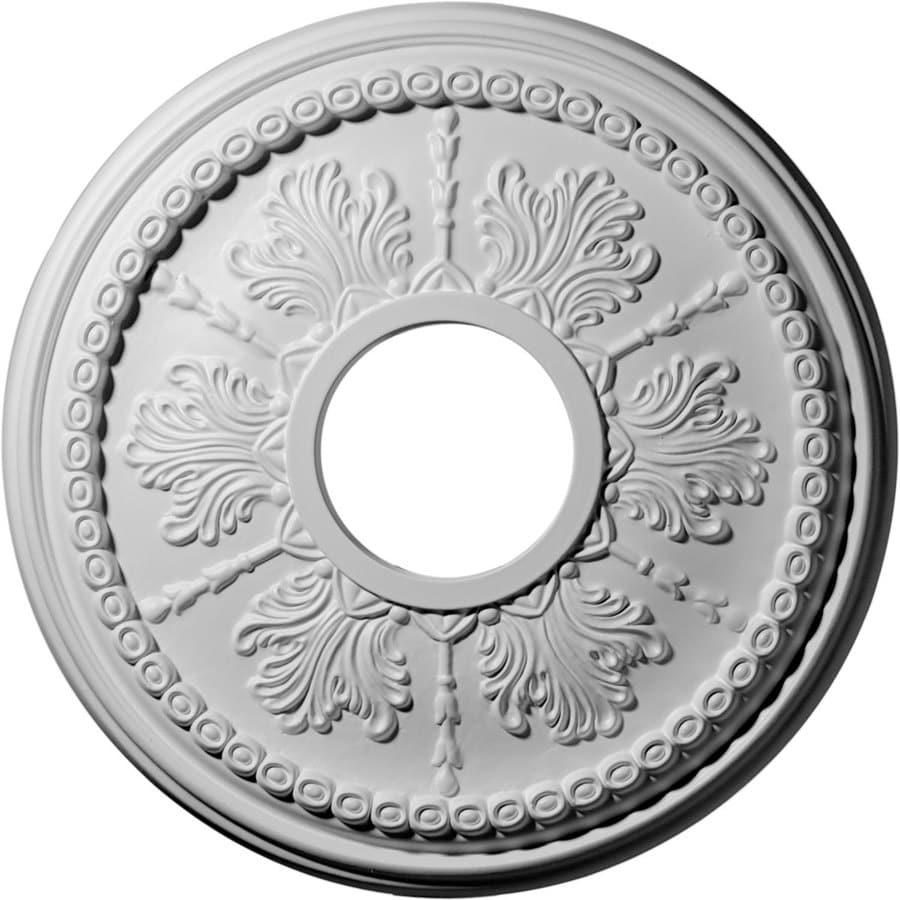Ekena Millwork Tirana 13.875-in x 13.875-in Polyurethane Ceiling Medallion