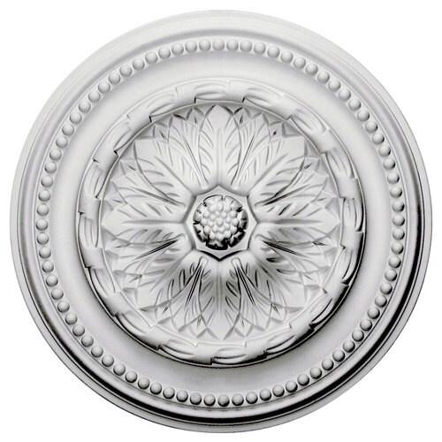 X 15 75 In White Urethane Ceiling Medallion