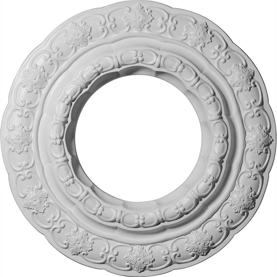 Ekena Millwork Lisbon 15.375-in x 15.375-in Polyurethane Ceiling Medallion
