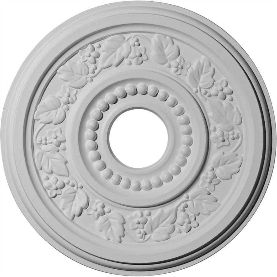 Ekena Millwork Genevieve 16.125-in x 16.125-in Polyurethane Ceiling Medallion