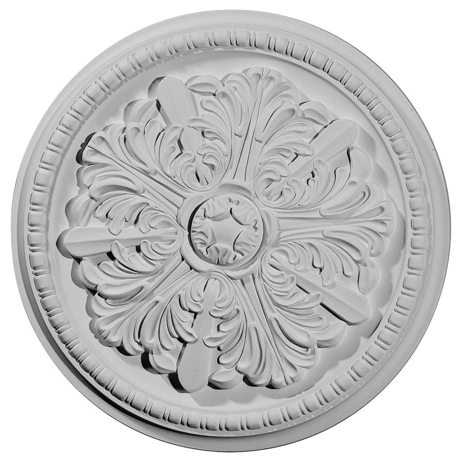 Ekena Millwork Swindon 16.875-in x 16.875-in Polyurethane Ceiling Medallion