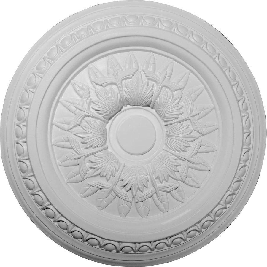 Ekena Millwork 17.75-in x 17.75-in Urethane Ceiling Medallion