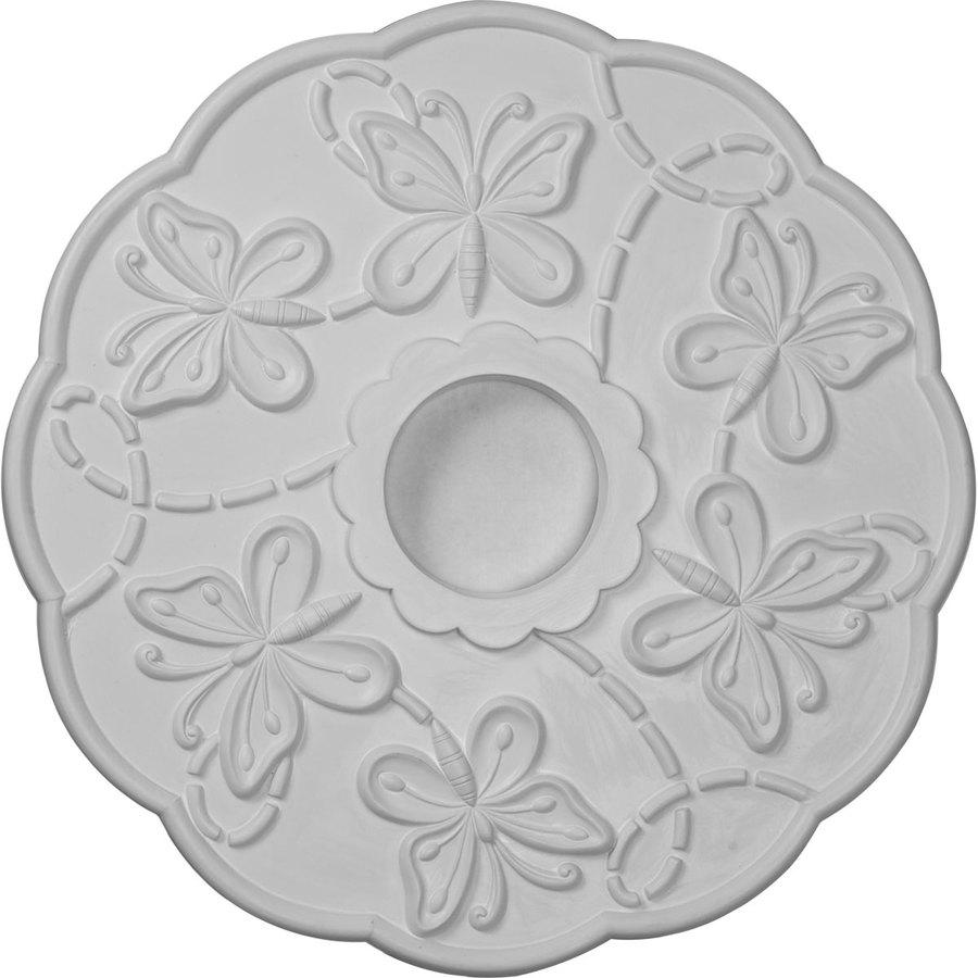 Ekena Millwork 17.875-in x 17.875-in Urethane Ceiling Medallion