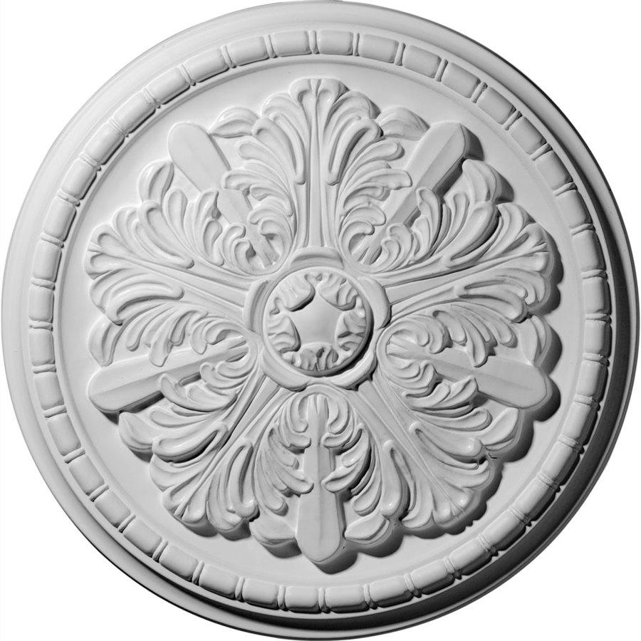 Ekena Millwork 17.125-in x 17.125-in Urethane Ceiling Medallion