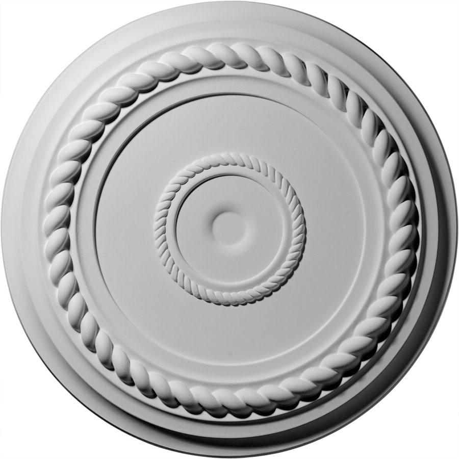Ekena Millwork 19.625-in x 19.625-in Urethane Ceiling Medallion