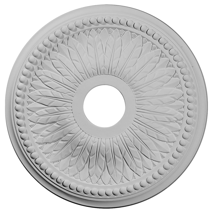 Ekena Millwork Bailey 18-in x 18-in Polyurethane Ceiling Medallion