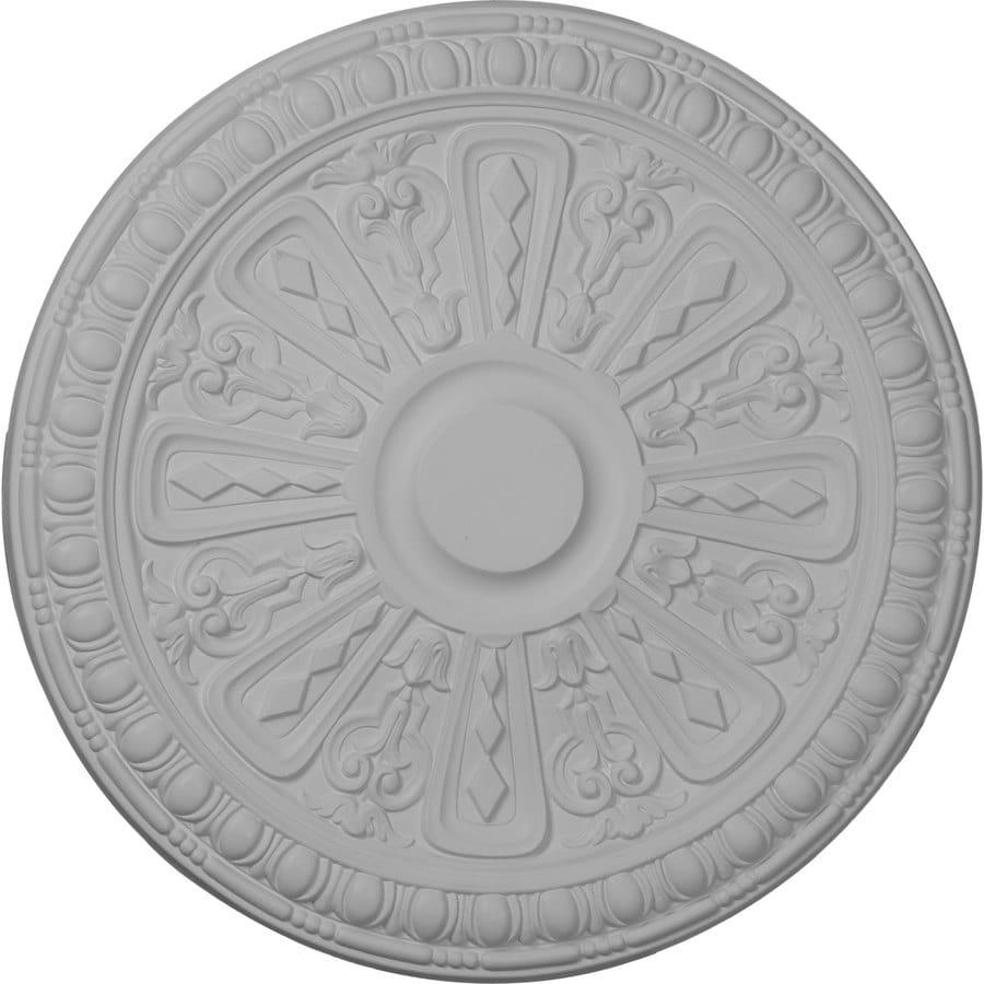 Ekena Millwork Raymond 18-in x 18-in Polyurethane Ceiling Medallion