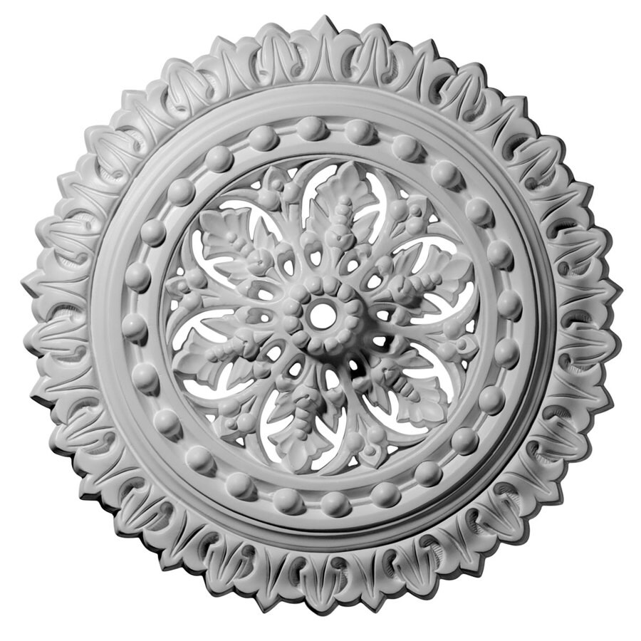Ekena Millwork Sellek 18.5-in x 18.5-in Polyurethane Ceiling Medallion