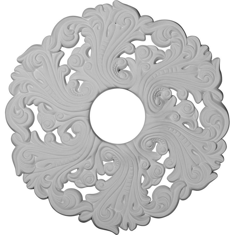 Ekena Millwork Orrington 19.625-in x 19.625-in Polyurethane Ceiling Medallion