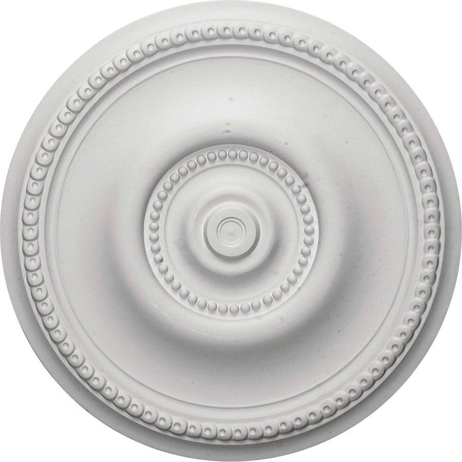 Ekena Millwork 20.625-in x 20.625-in Urethane Ceiling Medallion