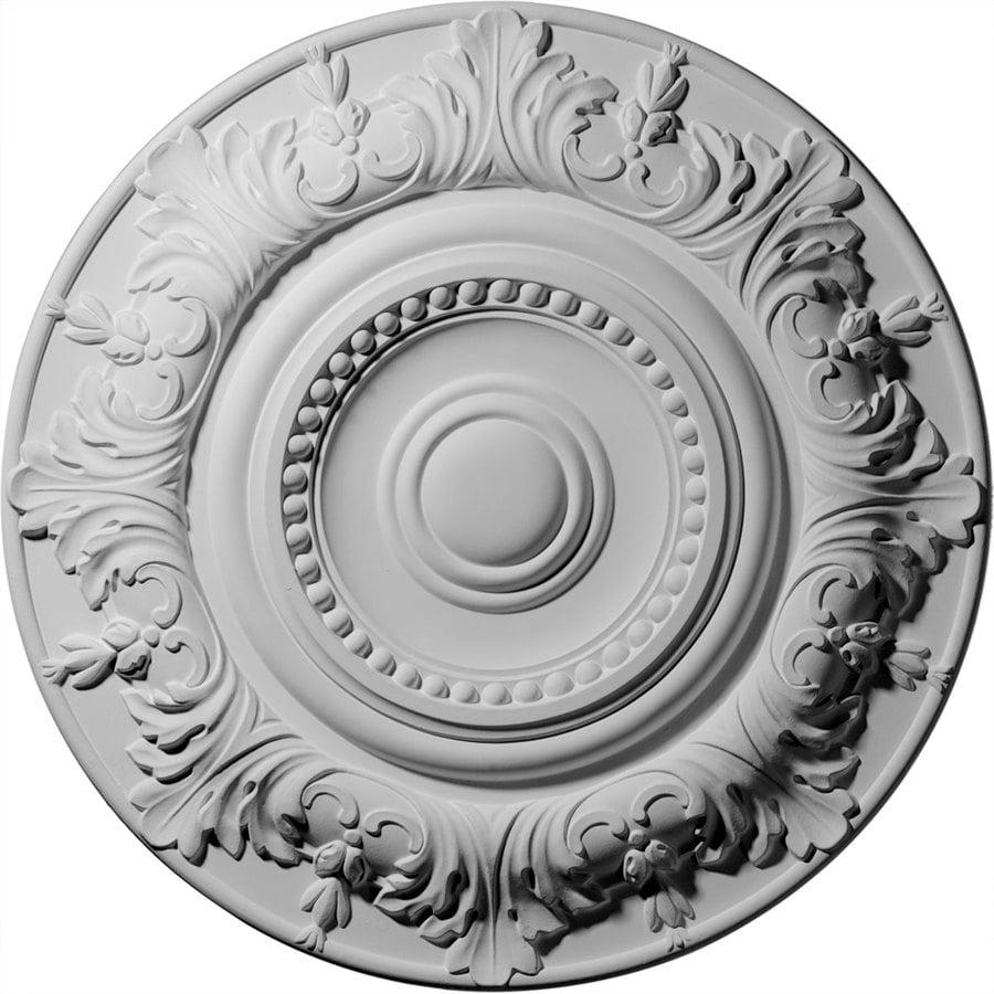 Ekena Millwork 20.875-in x 20.875-in Urethane Ceiling Medallion