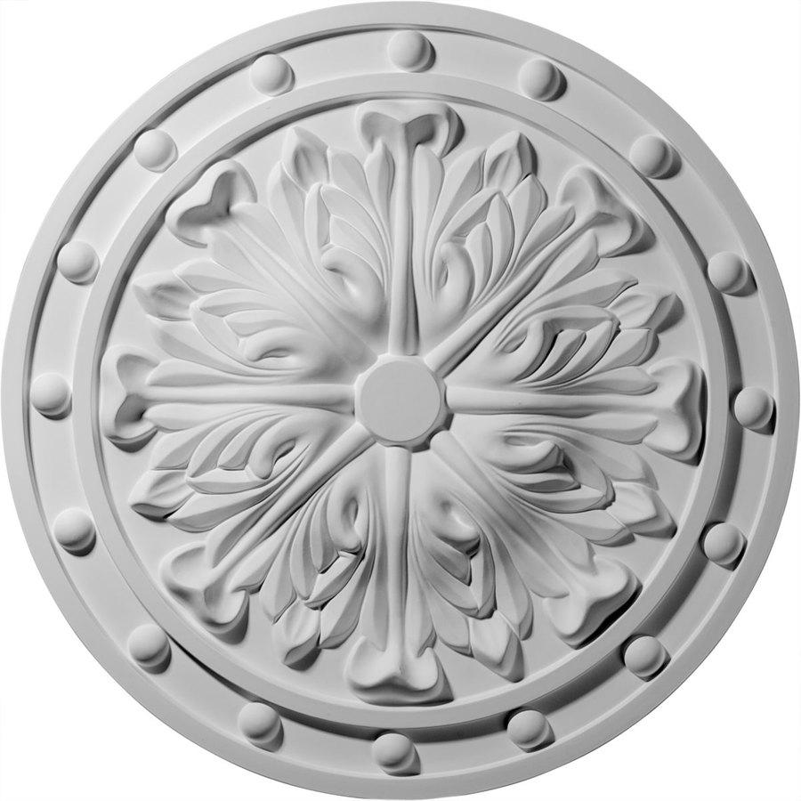 Ekena Millwork 20.5-in x 20.5-in Urethane Ceiling Medallion