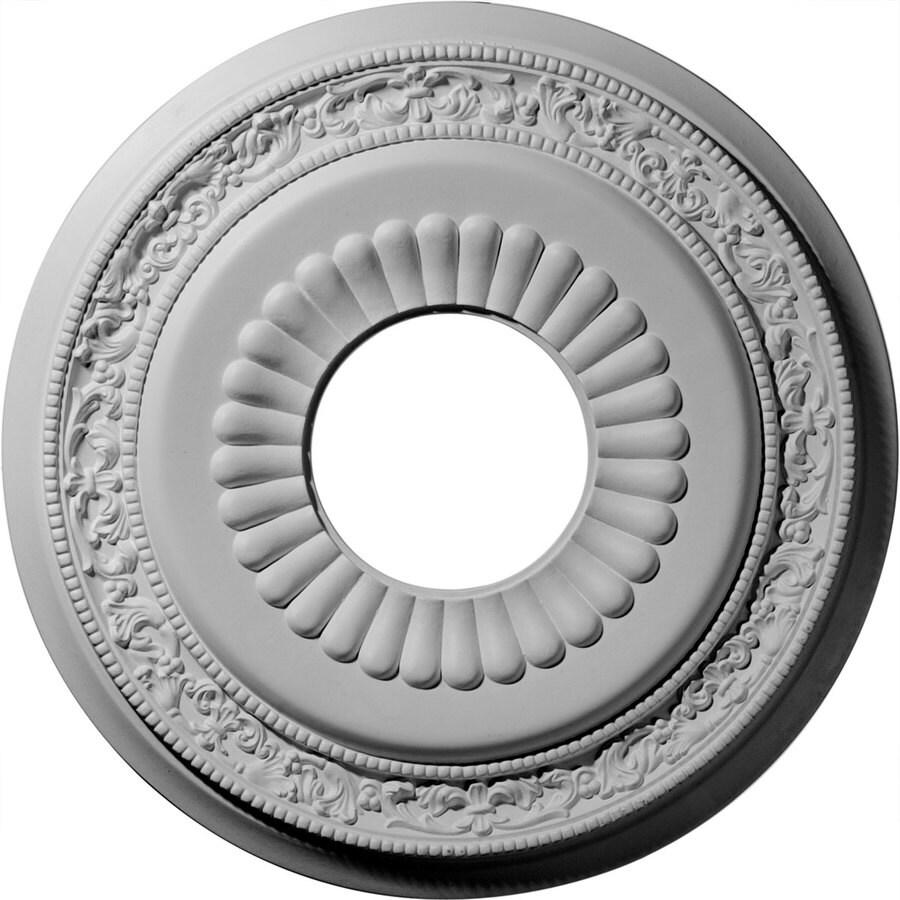 Ekena Millwork Lauren 20.625-in x 20.625-in Polyurethane Ceiling Medallion