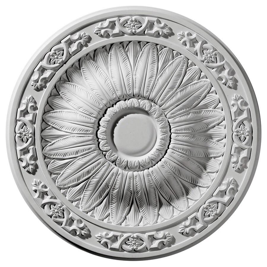 Ekena Millwork 20.25-in x 20.25-in Urethane Ceiling Medallion