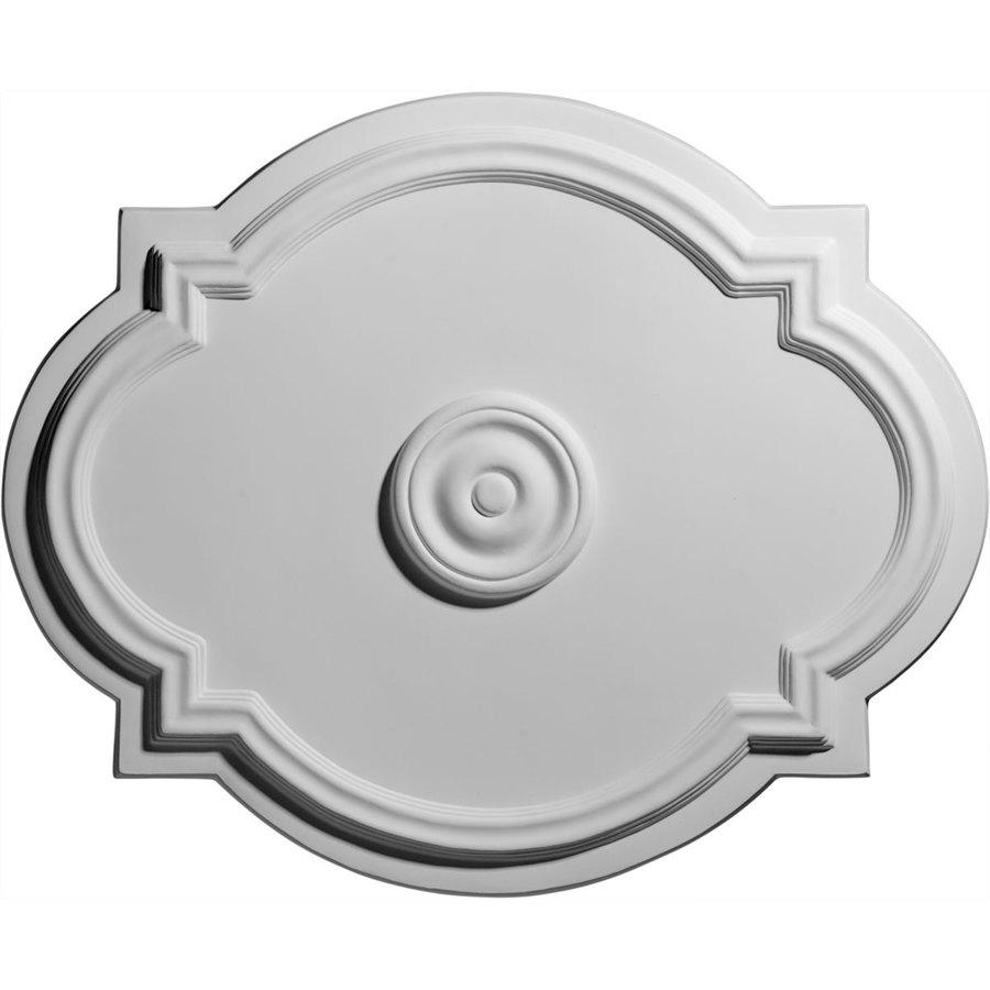 Ekena Millwork Waltz 21.25-in x 21.25-in Polyurethane Ceiling Medallion