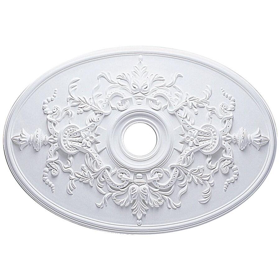Ekena Millwork Alexa 31-in x 31-in Polyurethane Ceiling Medallion