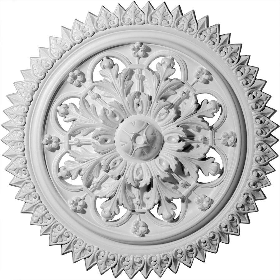 Ekena Millwork York 21.625-in x 21.625-in Polyurethane Ceiling Medallion