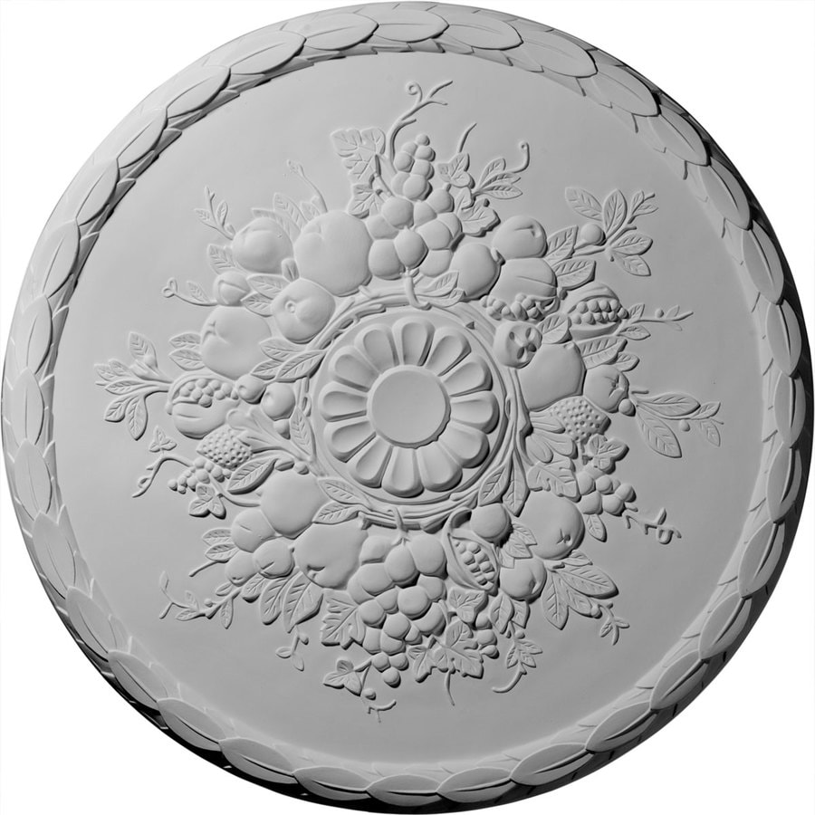 Ekena Millwork Anthony 22.5-in x 22.5-in Polyurethane Ceiling Medallion