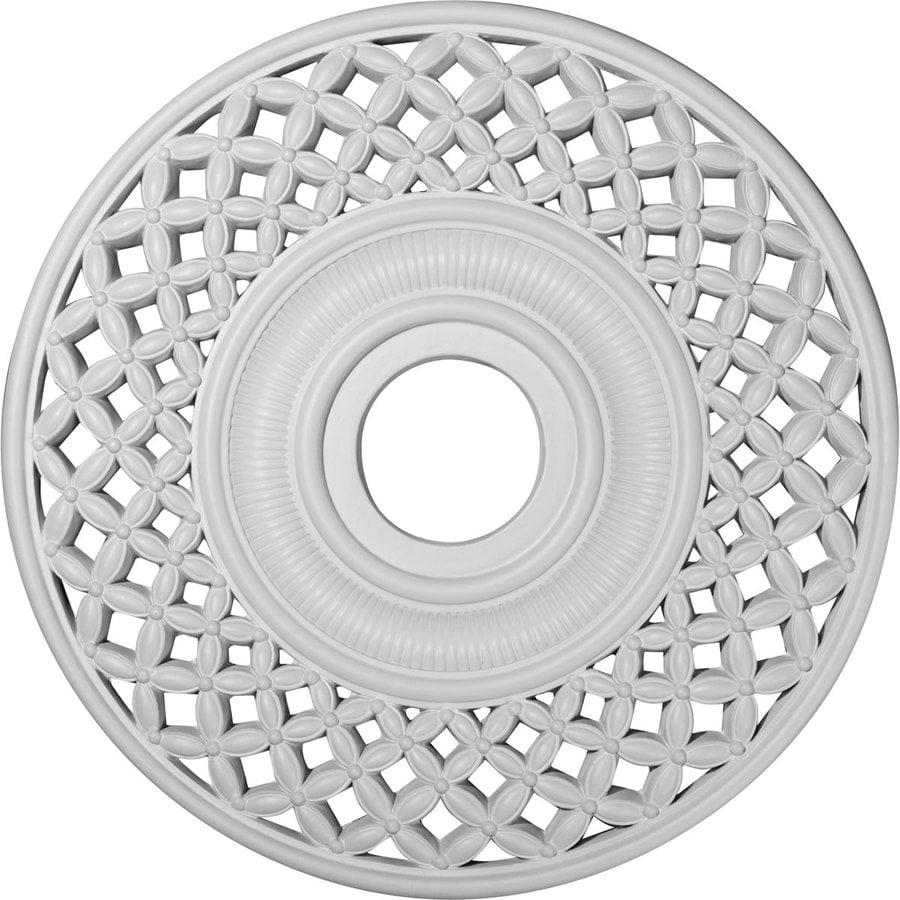 Ekena Millwork Robin 22.25-in x 22.25-in Polyurethane Ceiling Medallion