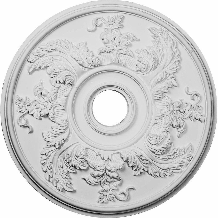 Ekena Millwork Acanthus 23.625-in x 23.625-in Polyurethane Ceiling Medallion