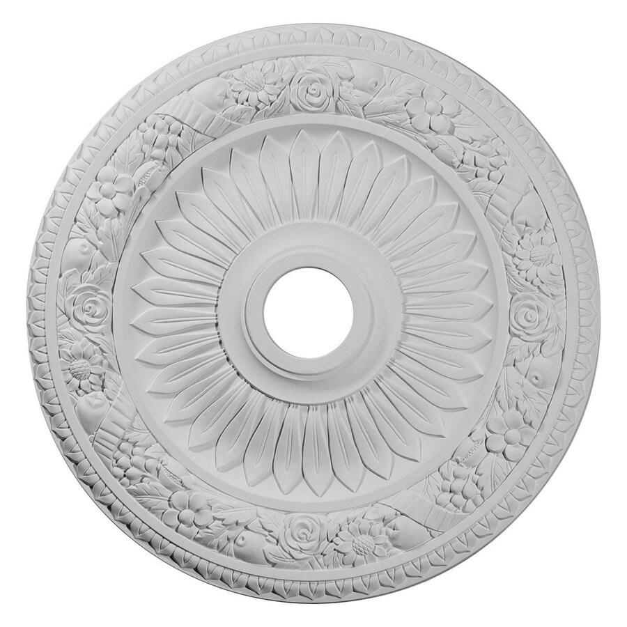 Ekena Millwork Bellona 23.625-in x 23.625-in Polyurethane Ceiling Medallion