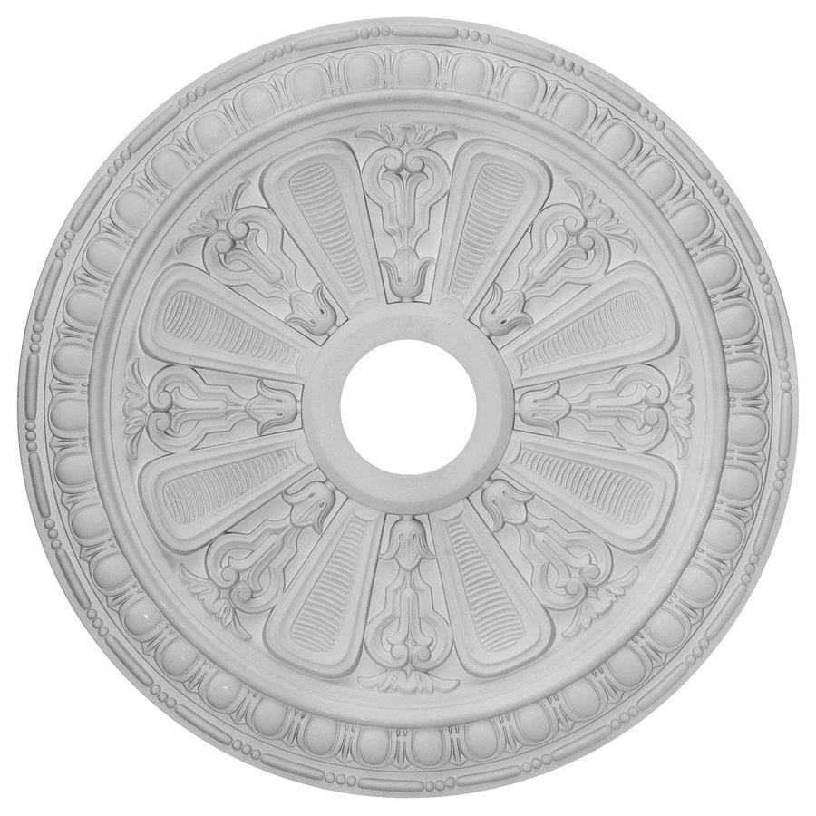 Ekena Millwork Bristol 23.5-in x 23.5-in Polyurethane Ceiling Medallion