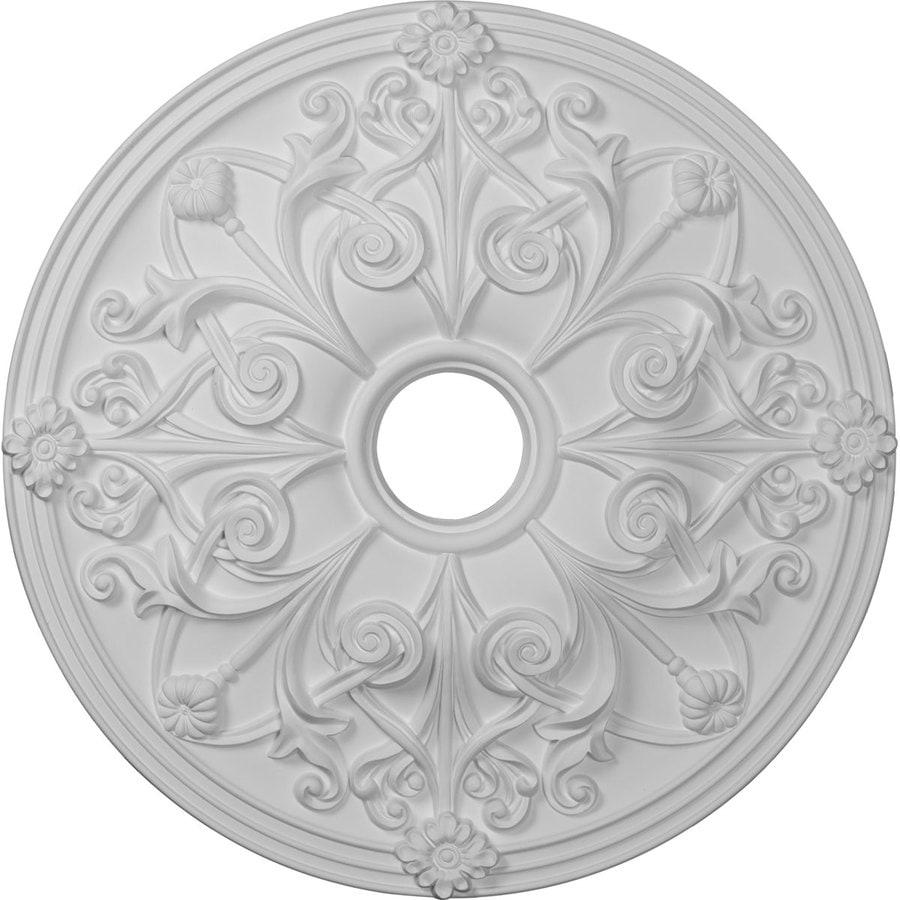 Ekena Millwork Jamie 23.625-in x 23.625-in Polyurethane Ceiling Medallion