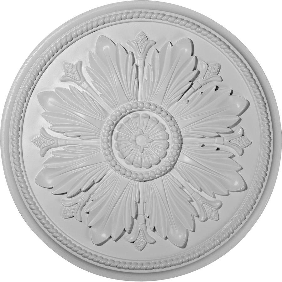 Ekena Millwork Kaya 23.625-in x 23.625-in Polyurethane Ceiling Medallion