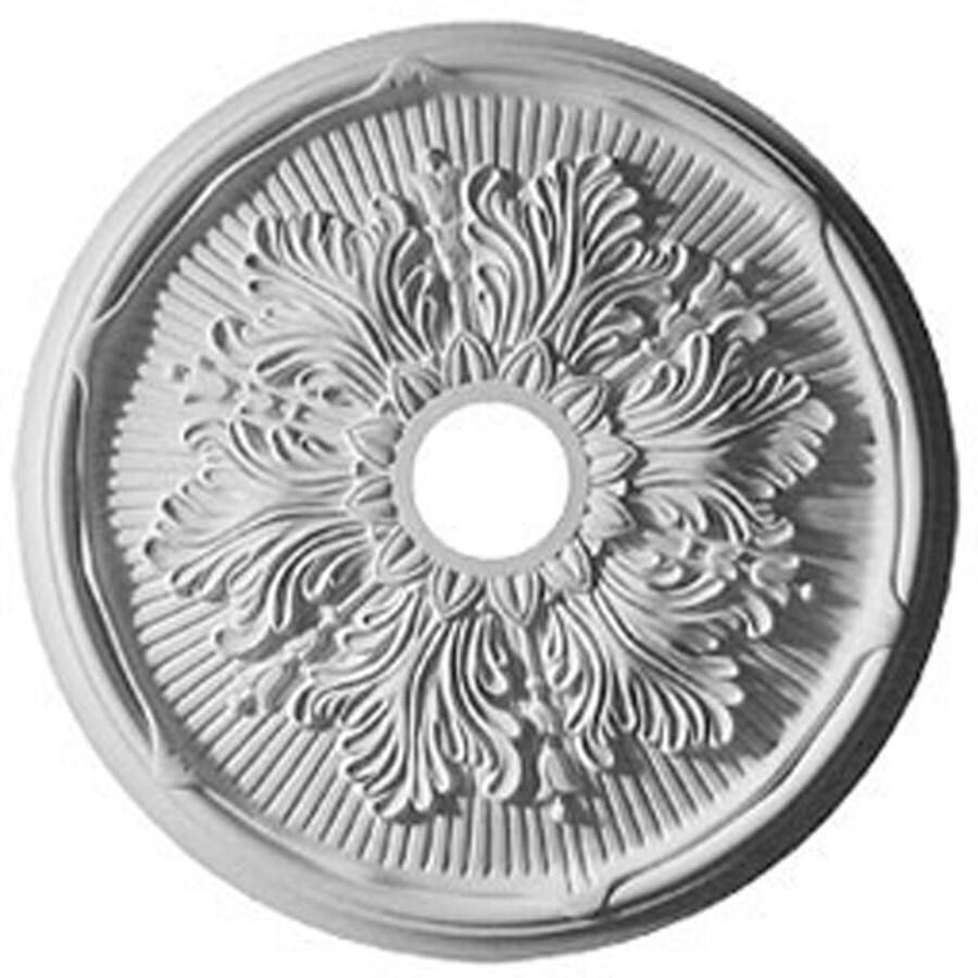 Ekena Millwork Luton 23.75-in x 23.75-in Polyurethane Ceiling Medallion