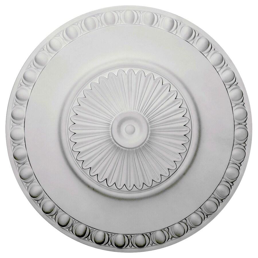 Ekena Millwork Lyon 23.5-in x 23.5-in Polyurethane Ceiling Medallion
