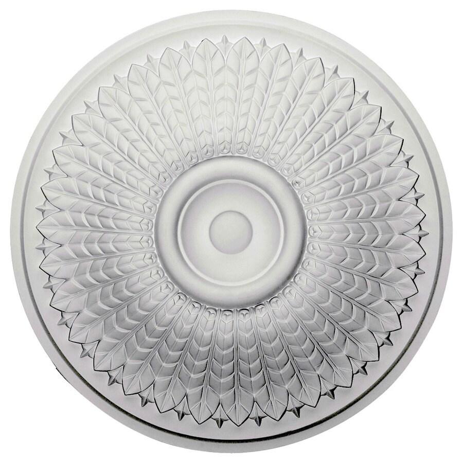 Ekena Millwork Modena 23.5-in x 23.5-in Polyurethane Ceiling Medallion