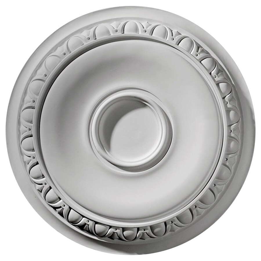 Ekena Millwork Caputo 24.25-in x 24.25-in Polyurethane Ceiling Medallion