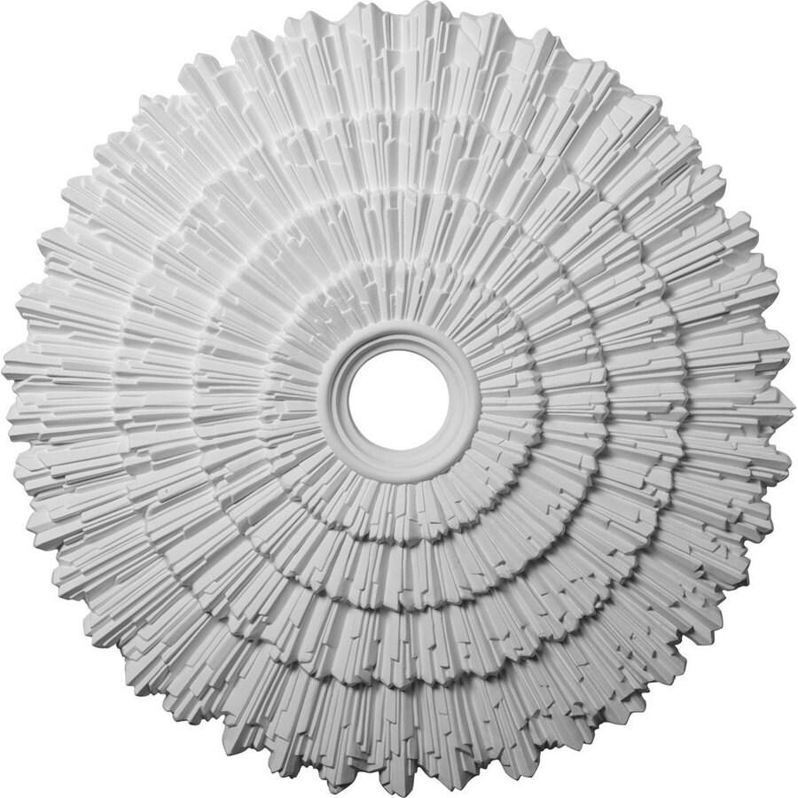 Ekena Millwork Eryn 24.75-in x 24.75-in Polyurethane Ceiling Medallion