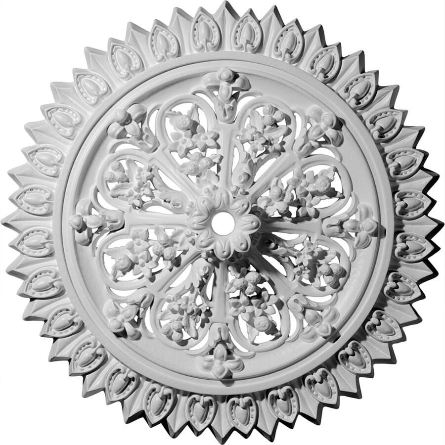 Ekena Millwork Lariah 24.75-in x 24.75-in Polyurethane Ceiling Medallion