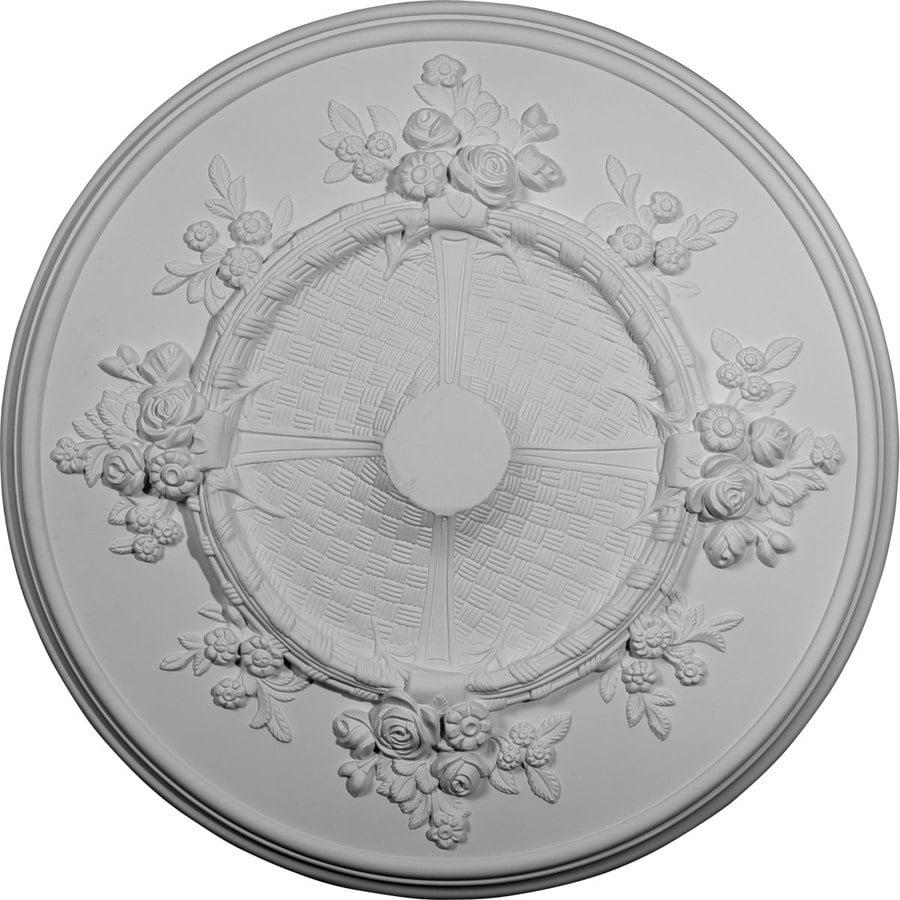 Ekena Millwork 25.5-in x 25.5-in Urethane Ceiling Medallion