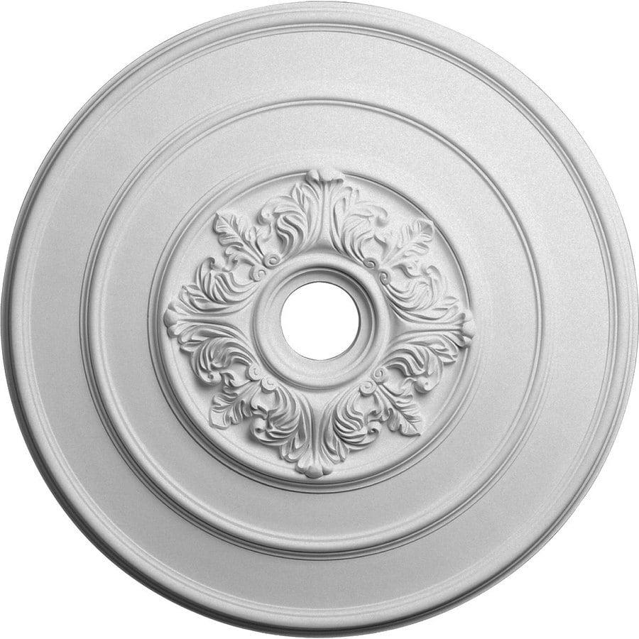 Ekena Millwork Traditional 26-in x 26-in Polyurethane Ceiling Medallion