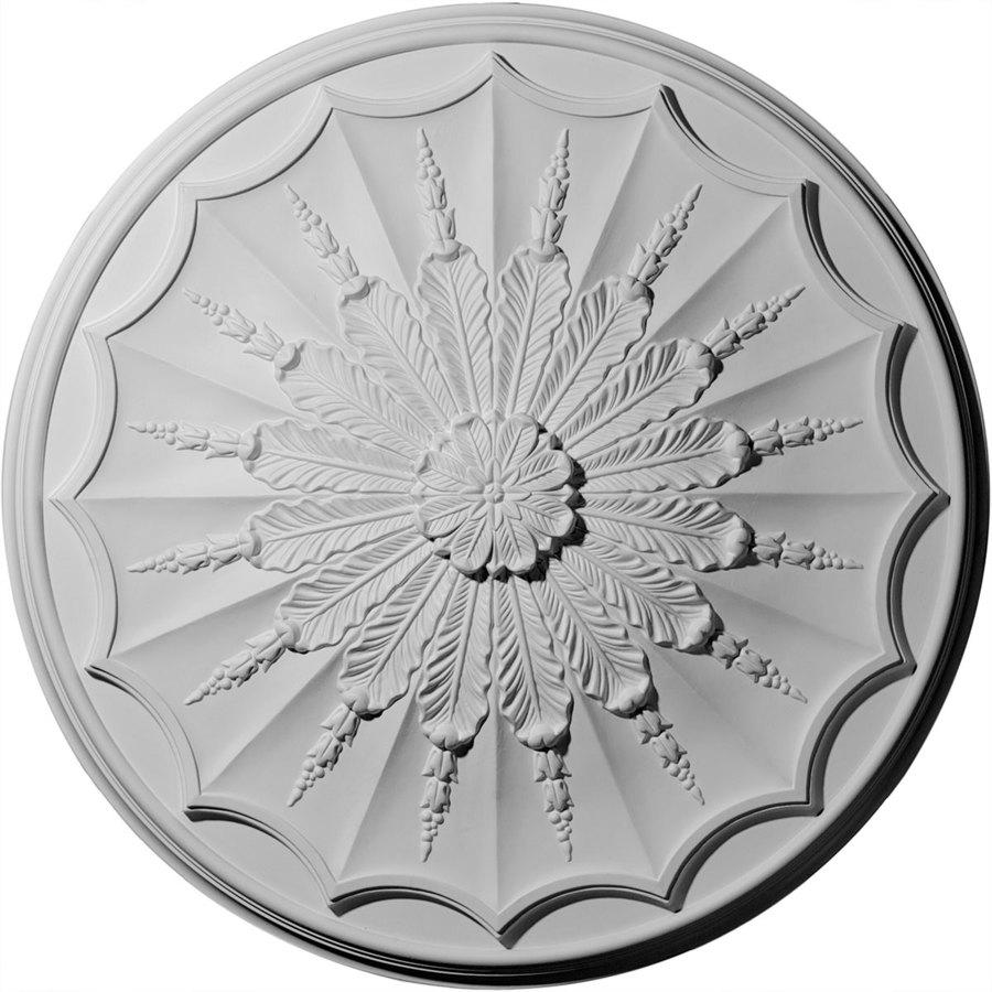 Ekena Millwork 27.125-in x 27.125-in Urethane Ceiling Medallion