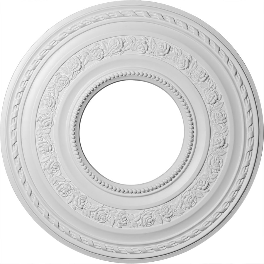 Ekena Millwork Anthony 29.375-in x 29.375-in Polyurethane Ceiling Medallion