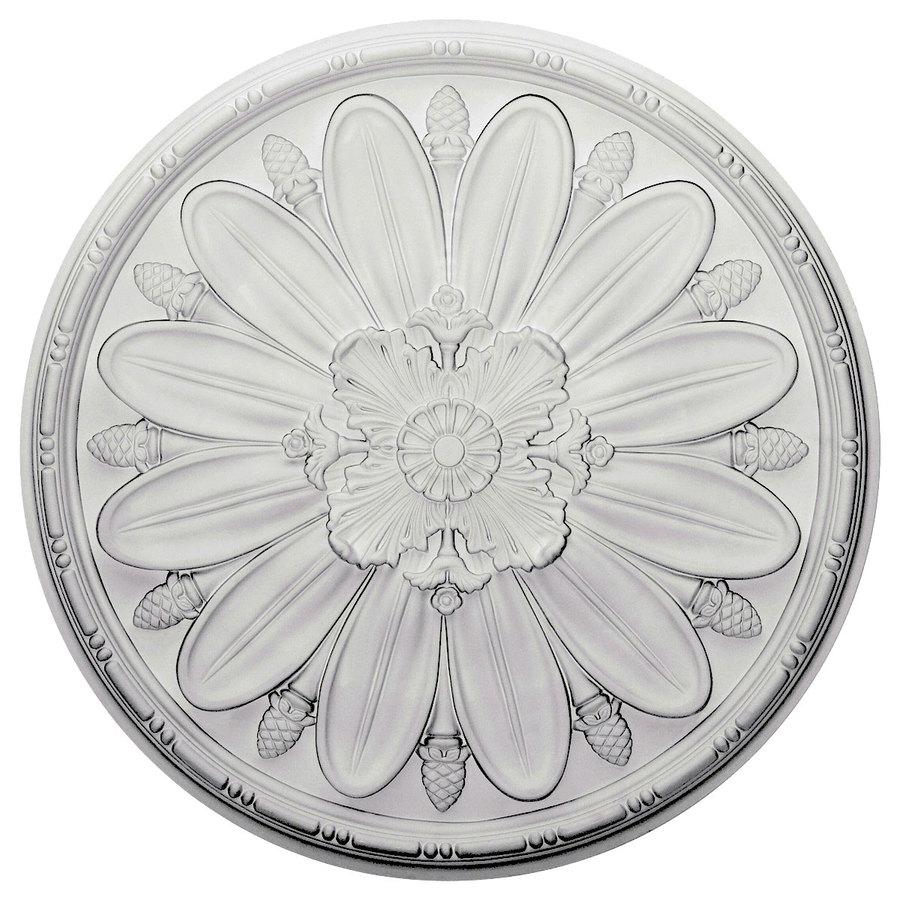 Ekena Millwork 29.875-in x 29.875-in Urethane Ceiling Medallion