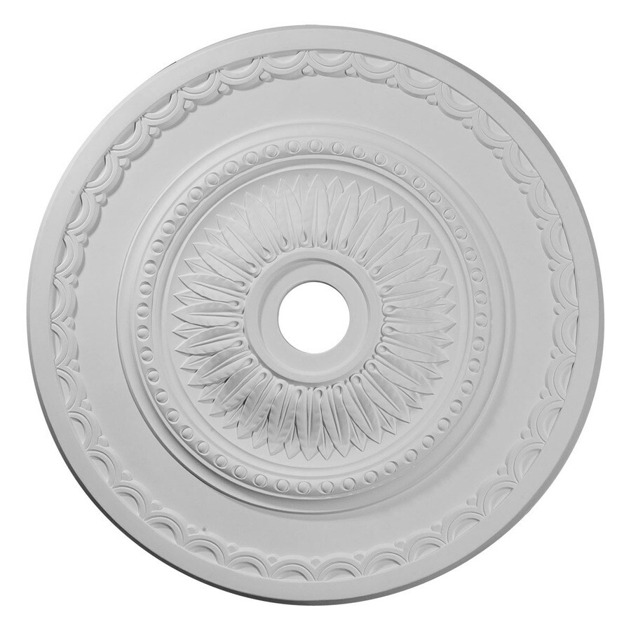 Ekena Millwork Sunflower 29.5-in x 29.5-in Polyurethane Ceiling Medallion