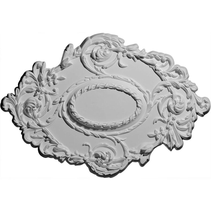 Ekena Millwork Kinsley 30.375-in x 30.375-in Polyurethane Ceiling Medallion