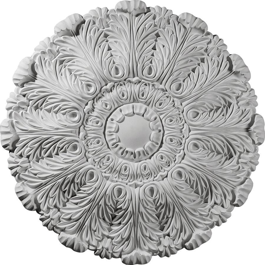 Ekena Millwork Durham 31-in x 31-in Polyurethane Ceiling Medallion