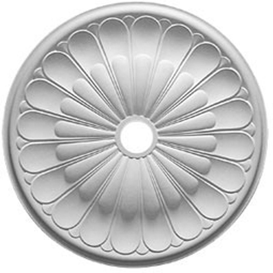 Ekena Millwork Gorleen 31.625-in x 31.625-in Polyurethane Ceiling Medallion