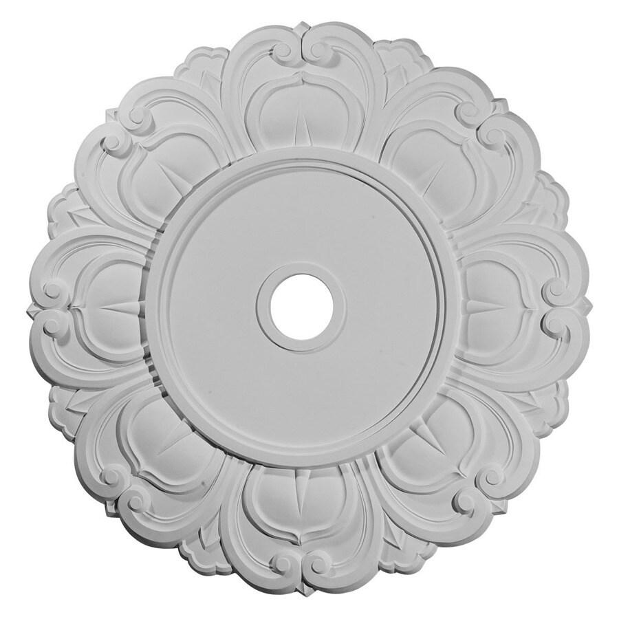 Ekena Millwork Angel 32.25-in x 32.25-in Polyurethane Ceiling Medallion