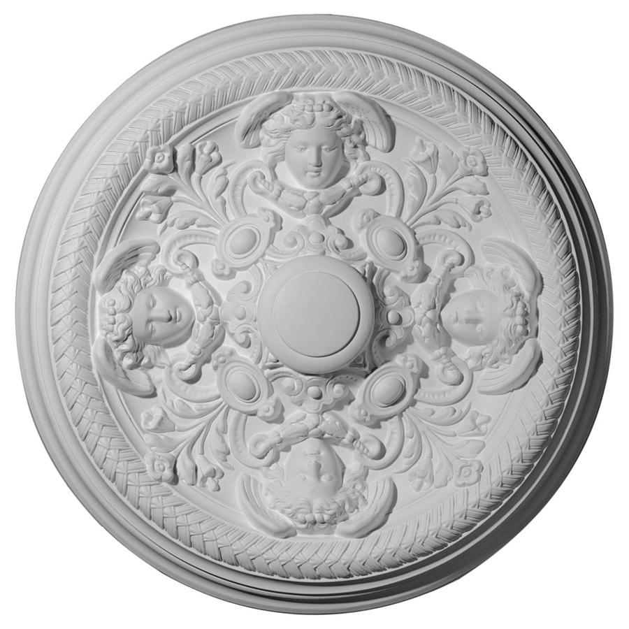 Ekena Millwork 32.25-in x 32.25-in Urethane Ceiling Medallion