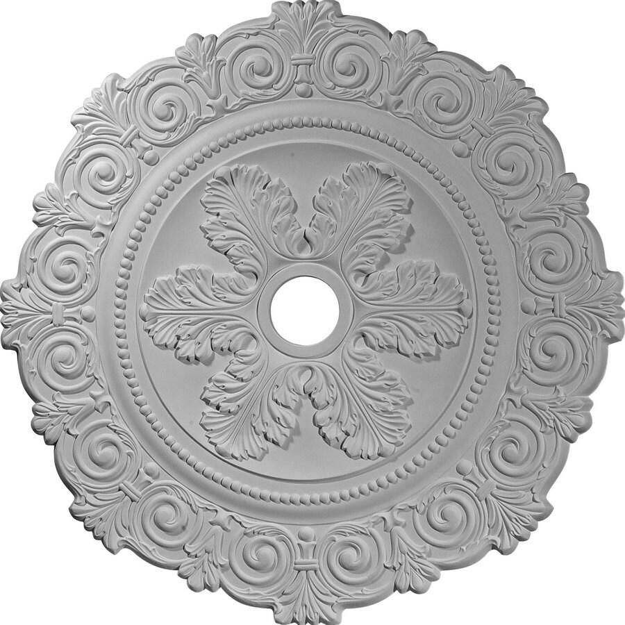 Ekena Millwork Scroll 33.25-in x 33.25-in Polyurethane Ceiling Medallion