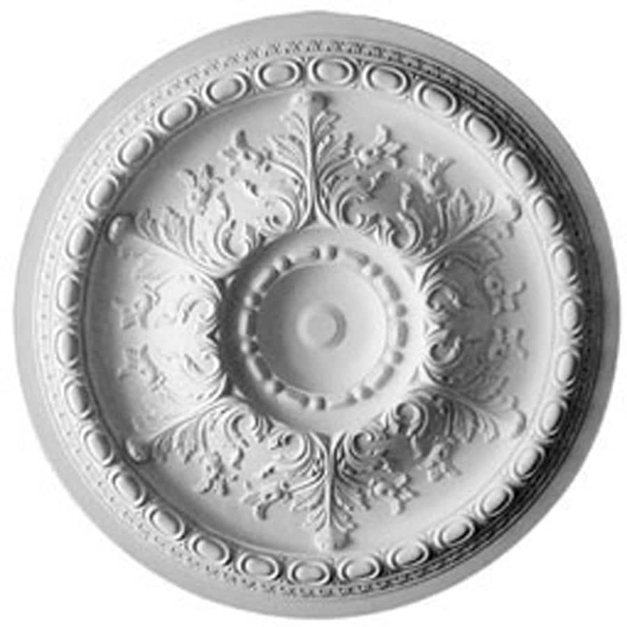 Ekena Millwork Oslo 38.375-in x 38.375-in Polyurethane Ceiling Medallion