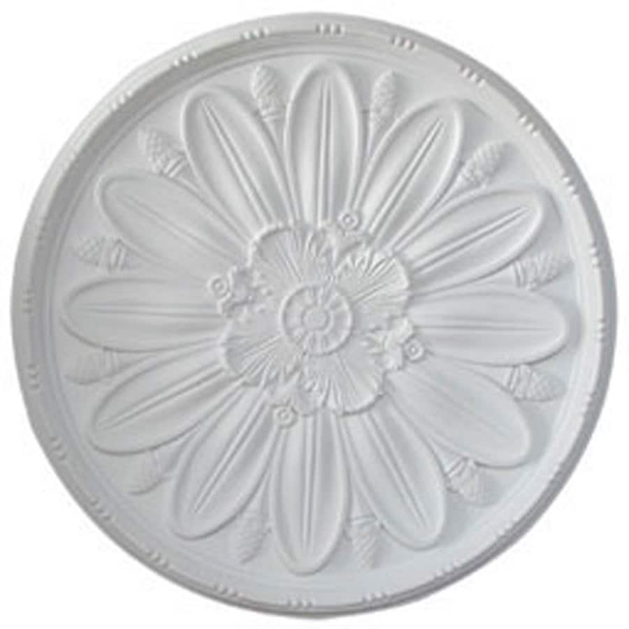 Ekena Millwork Delfina 40-in x 40-in Polyurethane Ceiling Medallion