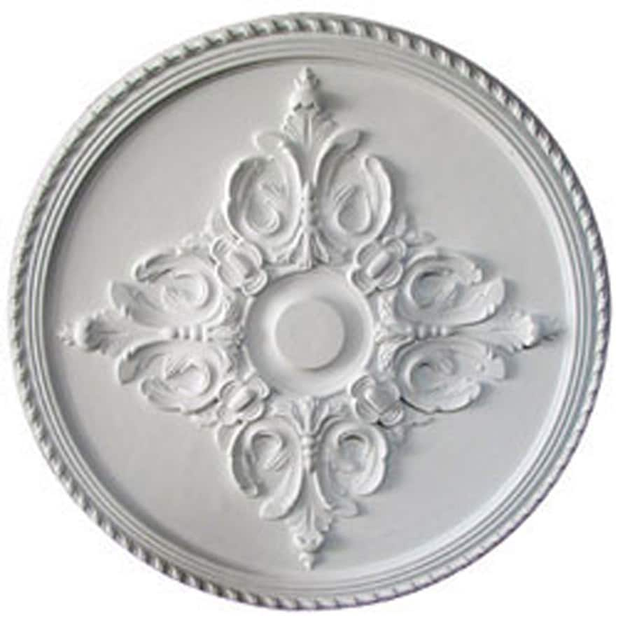 Ekena Millwork Milton 40.625-in x 40.625-in Polyurethane Ceiling Medallion