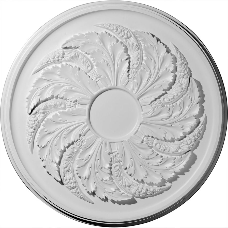 Ekena Millwork Sellek 42.125-in x 42.125-in Polyurethane Ceiling Medallion